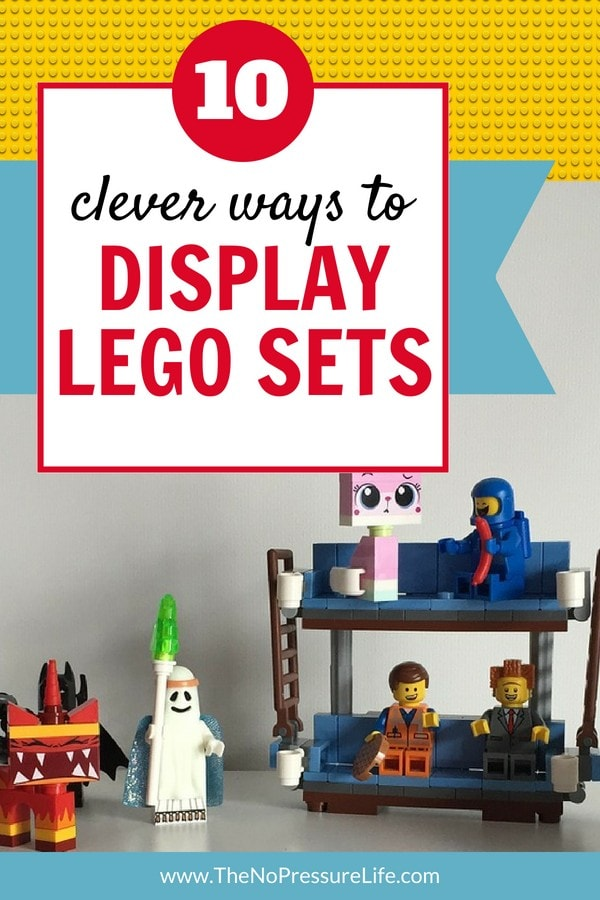 How to Display LEGO Sets