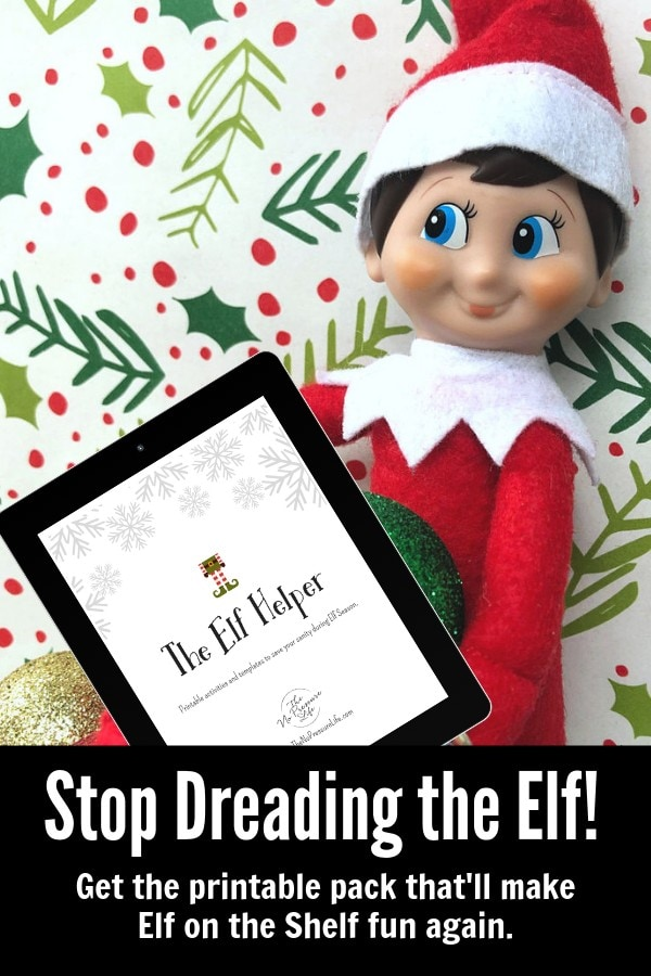 Easy Printable Elf on the Shelf Ideas and Activities