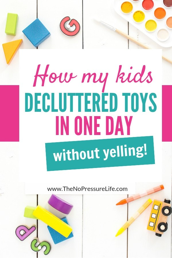 How to declutter toys - tips for kids and parents