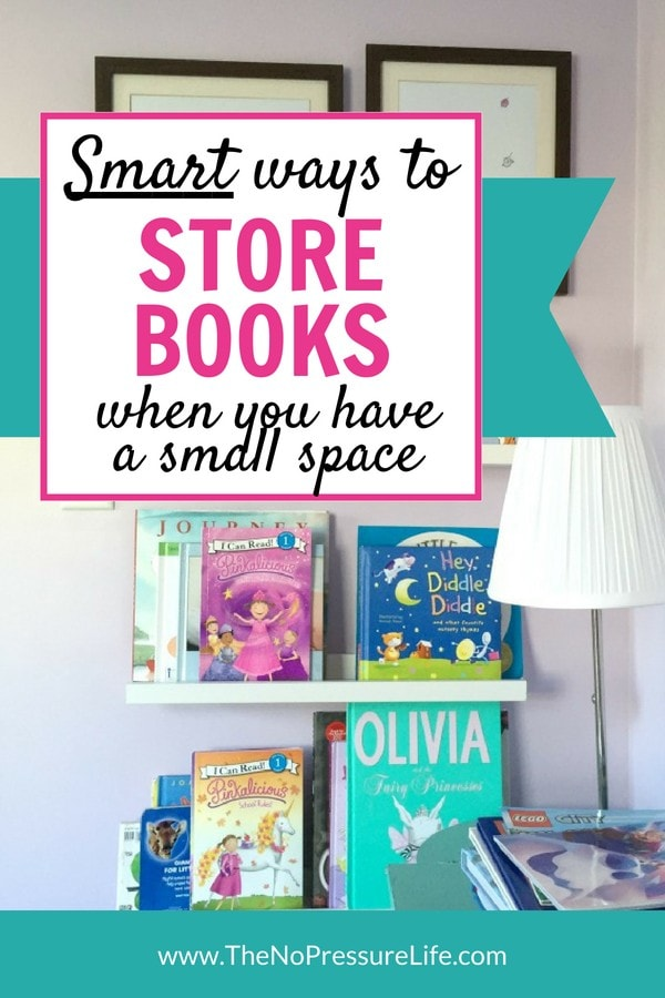 Book storage ideas for small spaces