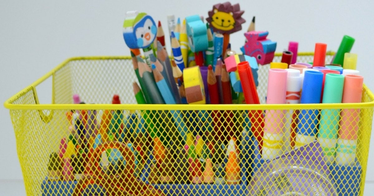 8 DIY Art Caddy Ideas That Will Organize Your Kids Creative Mess