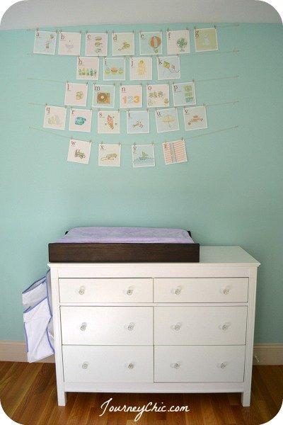 printable alphabet cards for a nursery