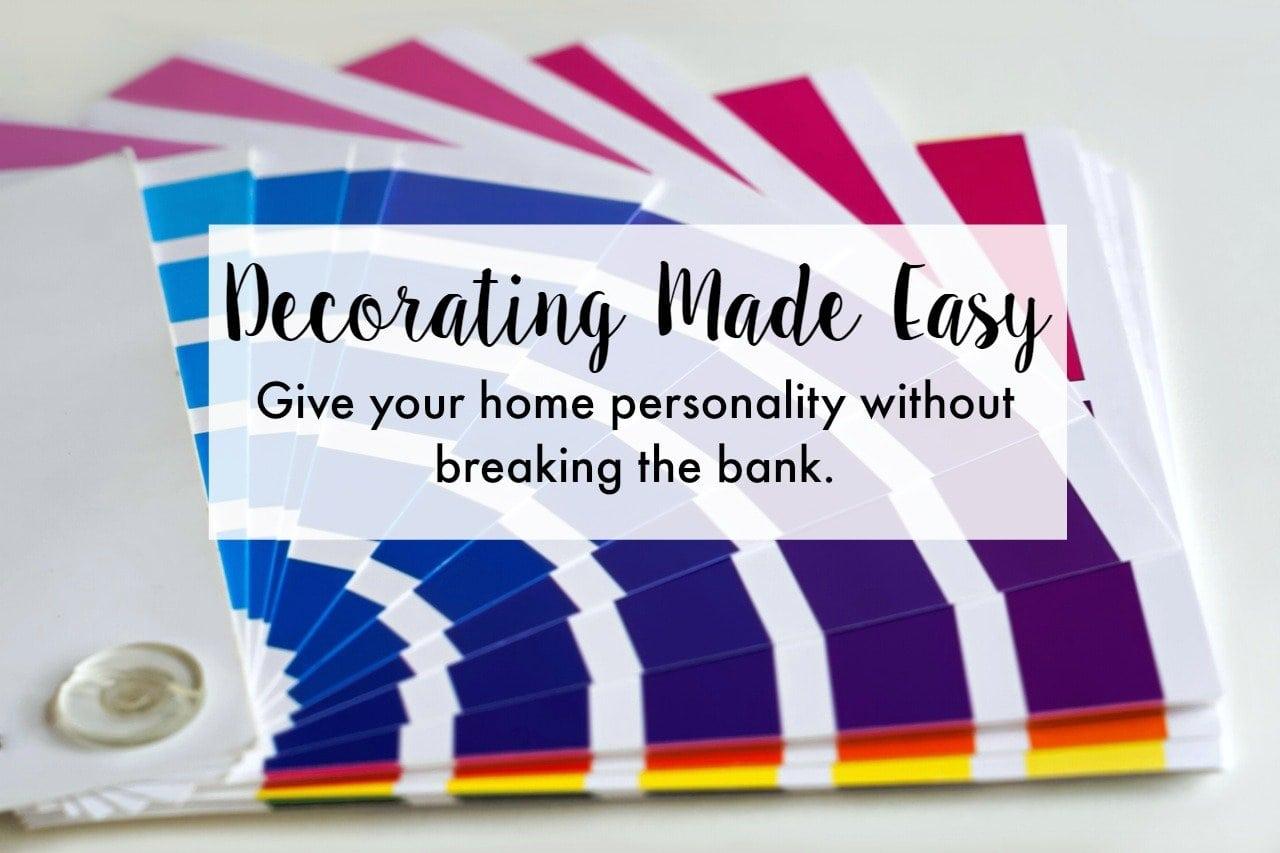 Easy Decorating Ideas for Home Decor Novices » The No Pressure ...