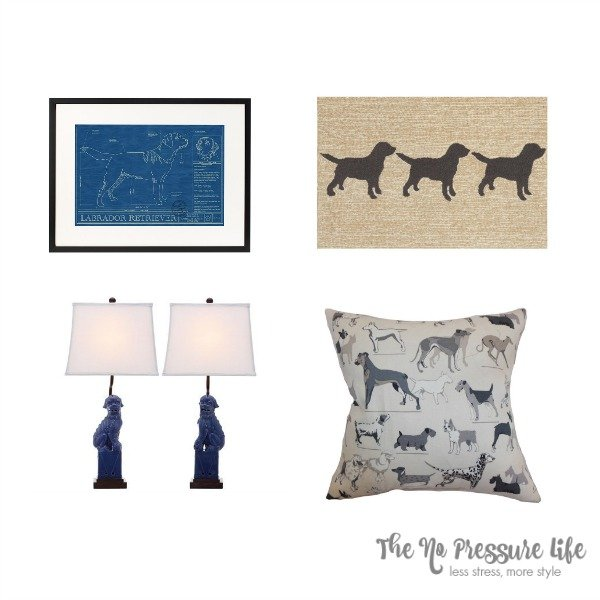 Decor gift ideas for dog lovers for Dog related home decor
