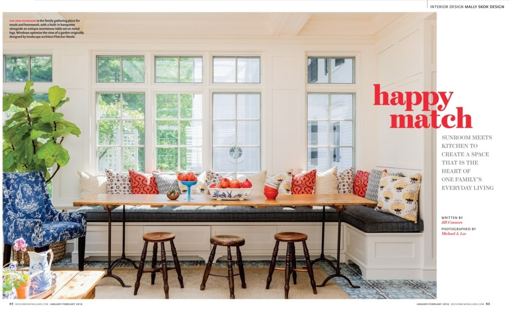 Eclectic Farmhouse style: breakfast nook