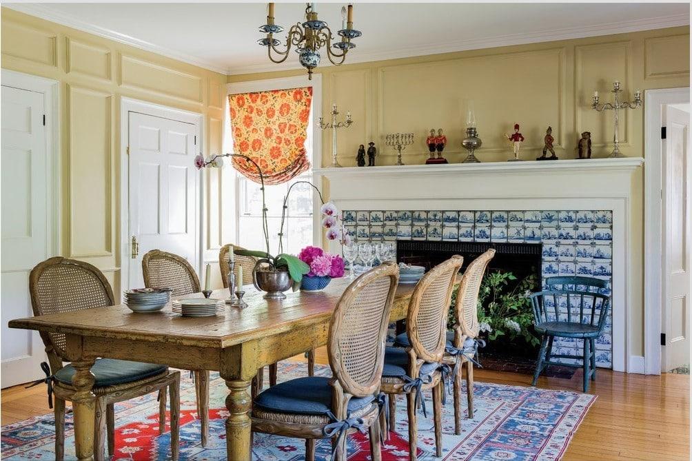 Eclectic Farmhouse diningroom