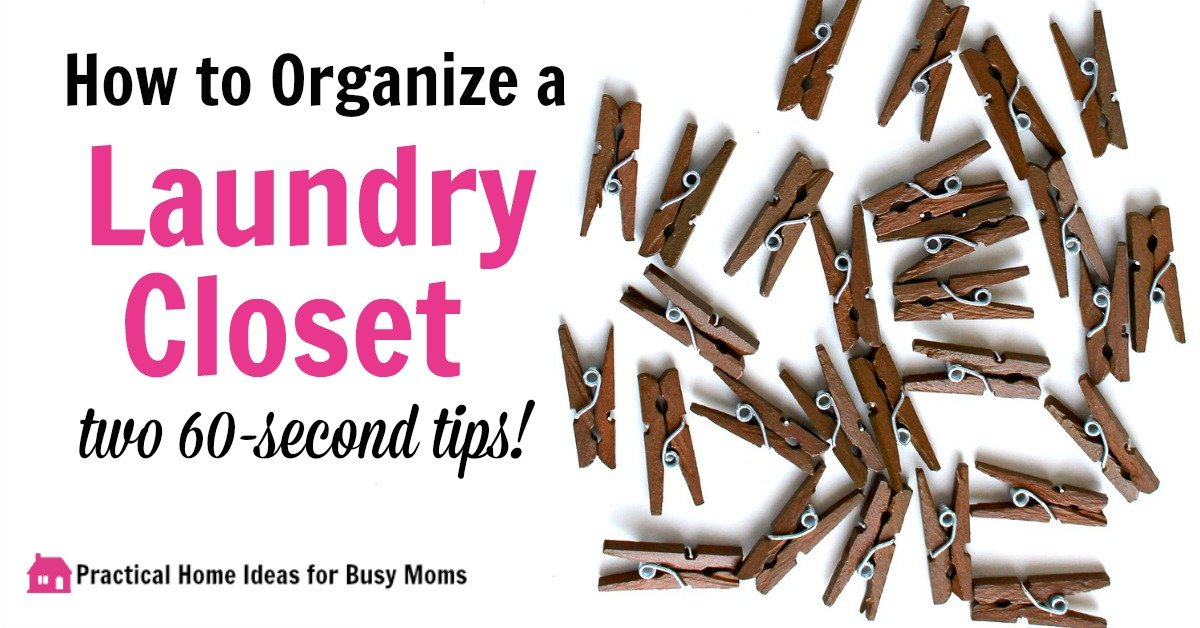 Quick laundry room organization how to add storage in 1 for How to add a laundry room to your house