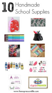 Handmade School Supplies from Etsy