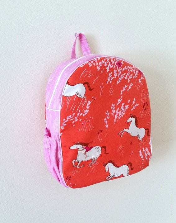 Handmade Girls Backpack - Weepereas on Etsy