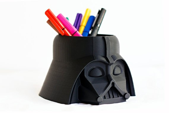 Darth Vader Pencil Cup - Madarakis on Etsy