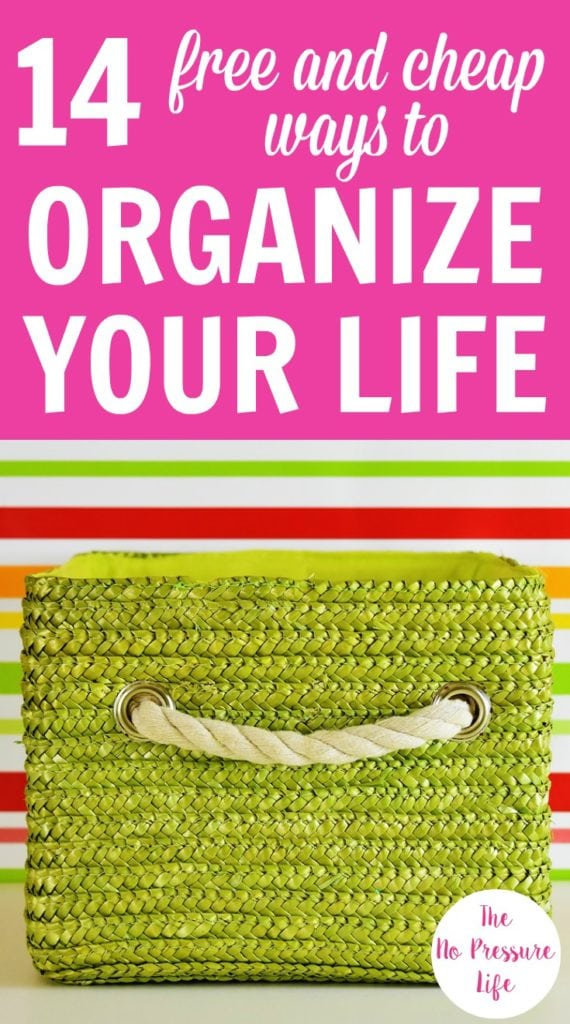 If you want to organize your home and life on a budget, these free and inexpensive storage and organization ideas are so helpful! By repurposing household items to create DIY storage solutions to using cheap organizers, you'll keep your home and life in order.