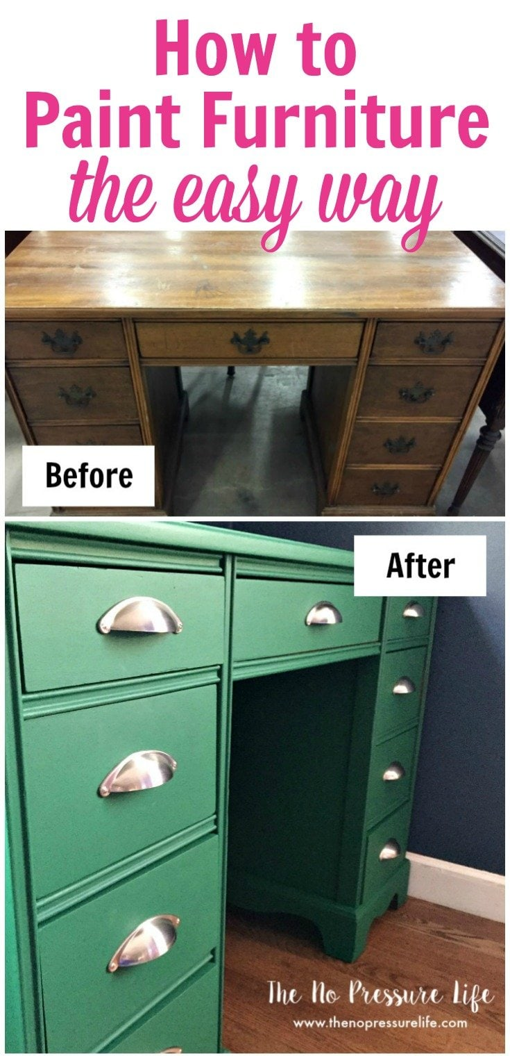 Learn how to paint furniture the easy way with chalk paint.