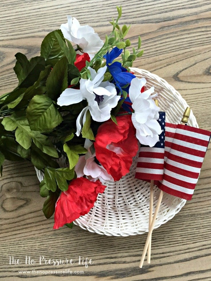 How to Make a 4th of July Wreath - Supplies