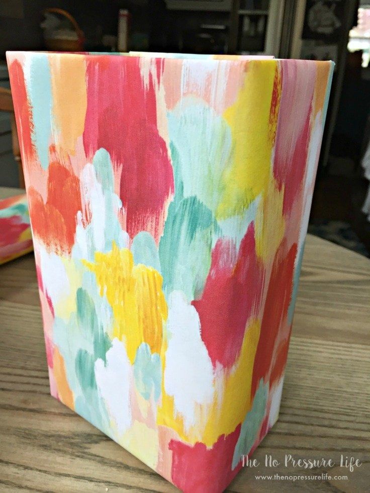 How to make a DIY laundry room lint bin