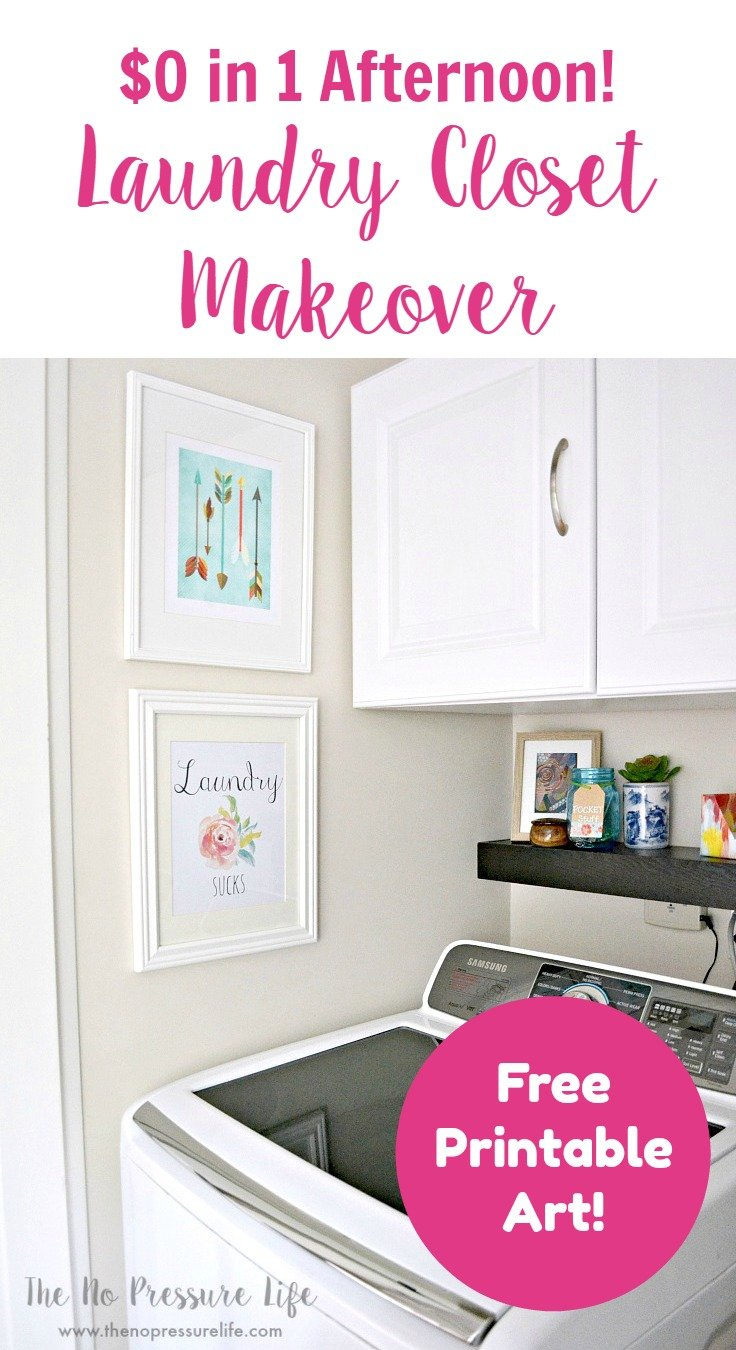 7 Laundry Closet Makeover Ideas That Are Fast And Cheap