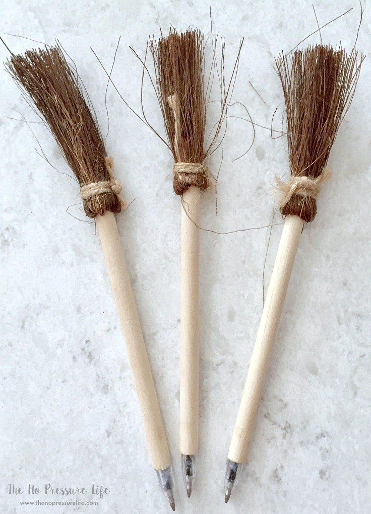 Harry Potter Party Favors - Witch Broom Pens