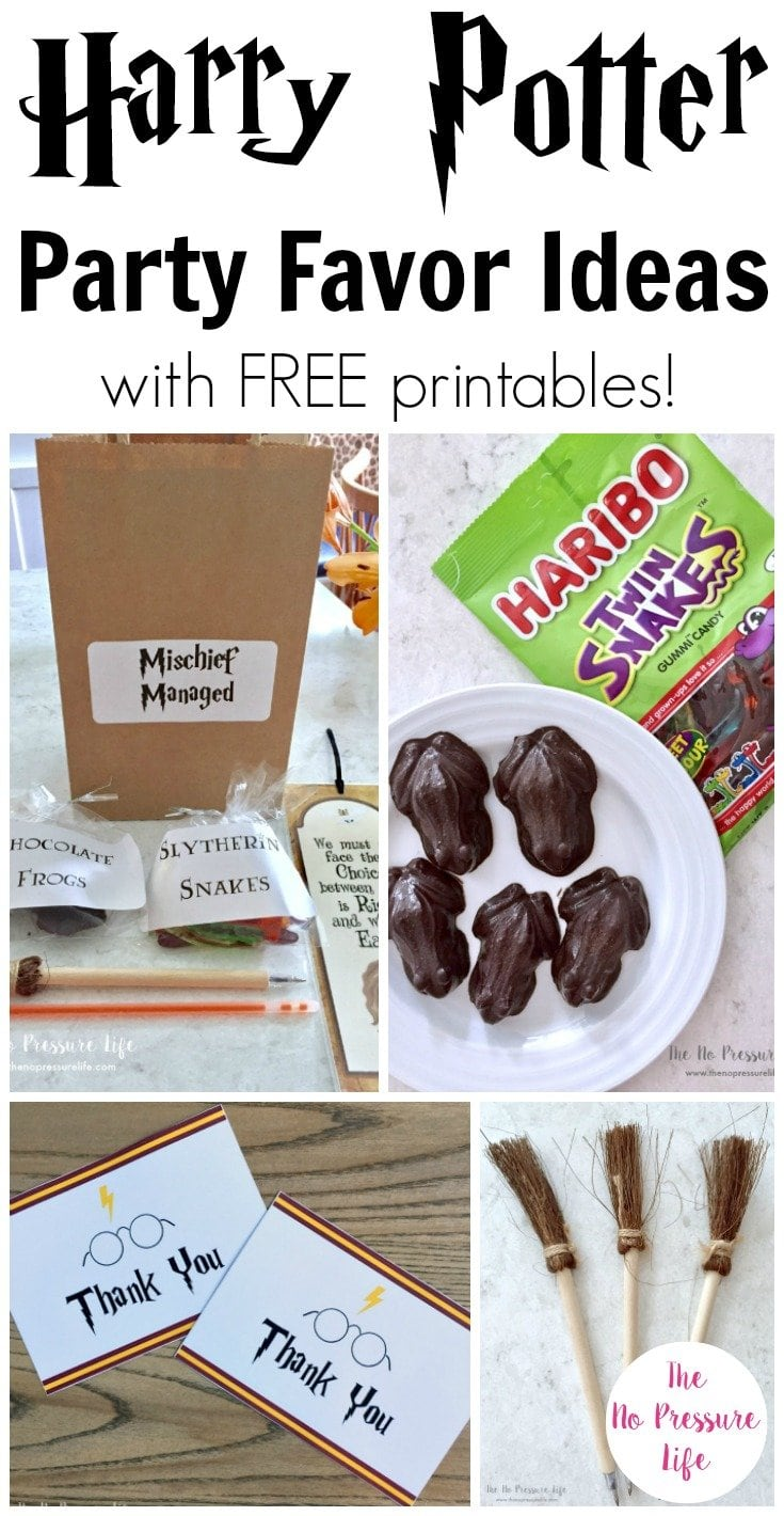 Harry Potter Party Favors 5 Easy Treats Kids Will Love