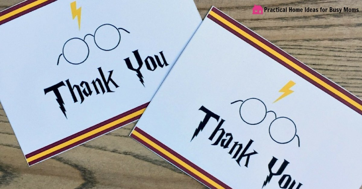 Harry Potter Party Favors 5 Easy Treats Kids Will Love Free Printables