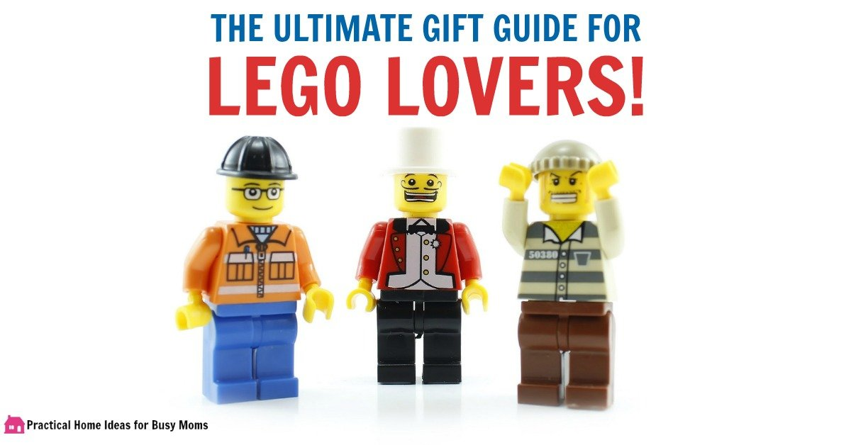 30 Awesome LEGO Gifts For Your Favorite Master Builder