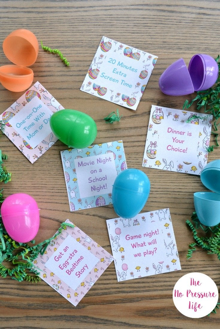 Free Printable Easter Egg Coupons