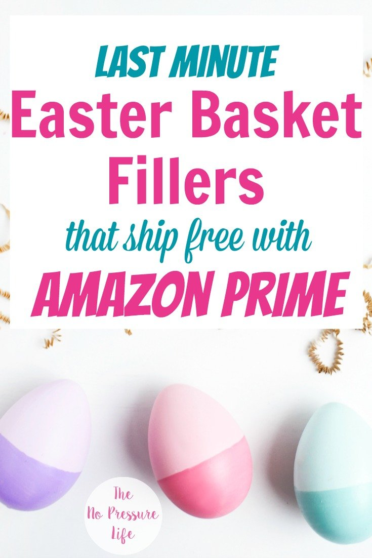 Non-candy Easter basket ideas you can get on Amazon at the last minute