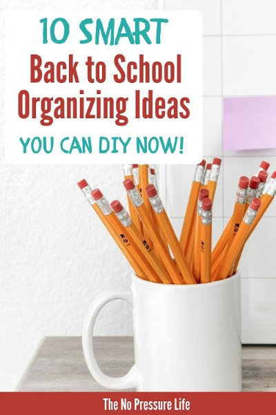 Back to school organization ideas for your home