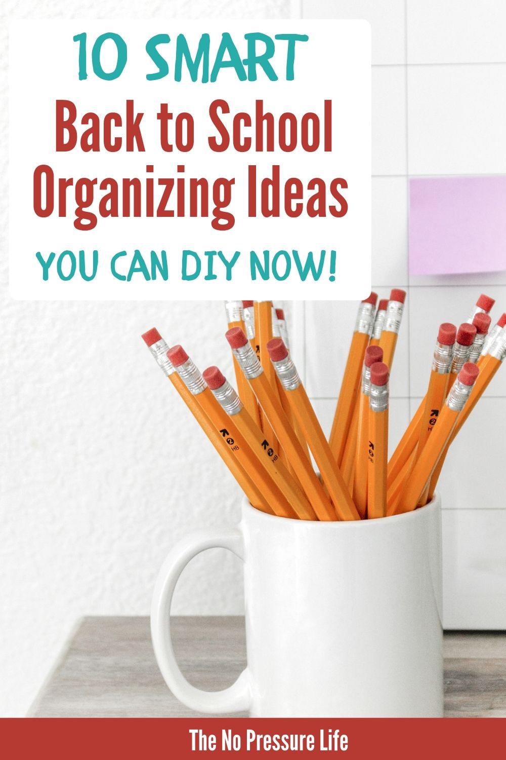 organizing ideas for back to school