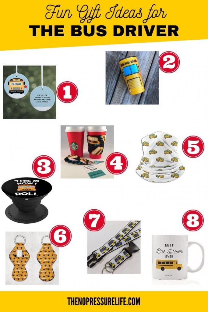 8 gifts for school bus drivers