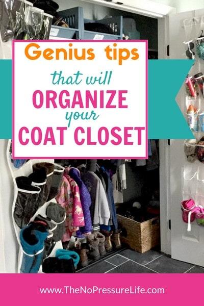 Brilliant coat closet organization ideas