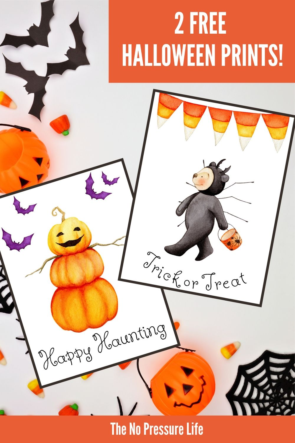 cute Halloween printable signs