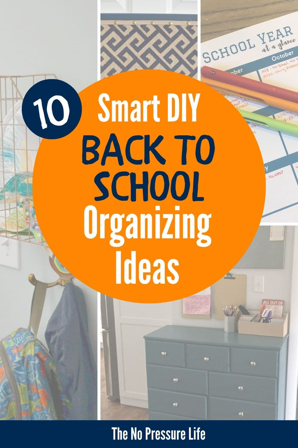 DIY Back to School Organization Ideas