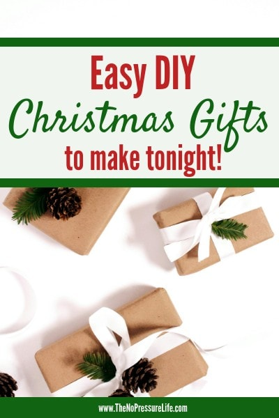 Easy DIY Christmas Gifts to make