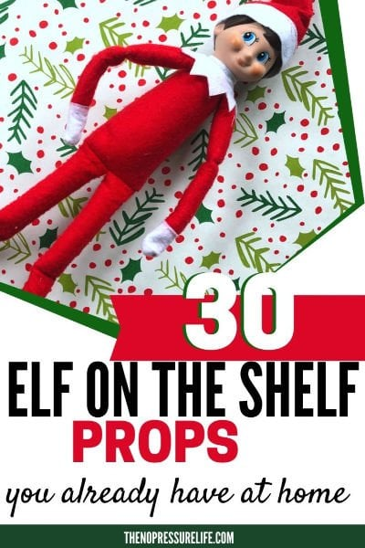DIY Elf on the Shelf Props and Supplies