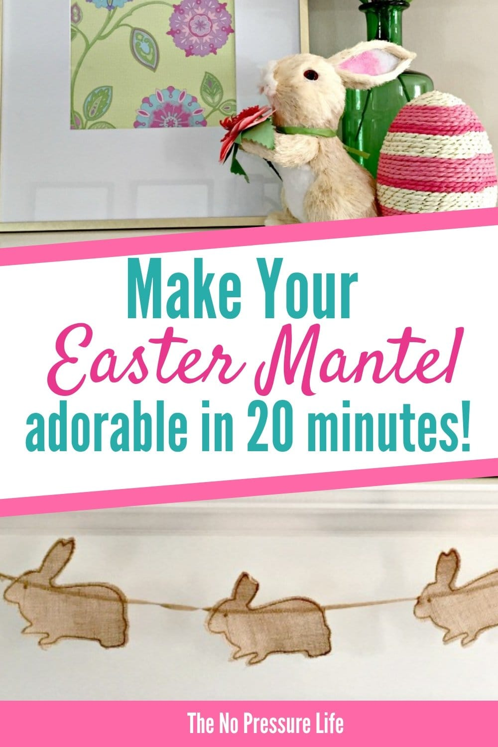 DIY Easter Mantel Decorating Ideas for Spring