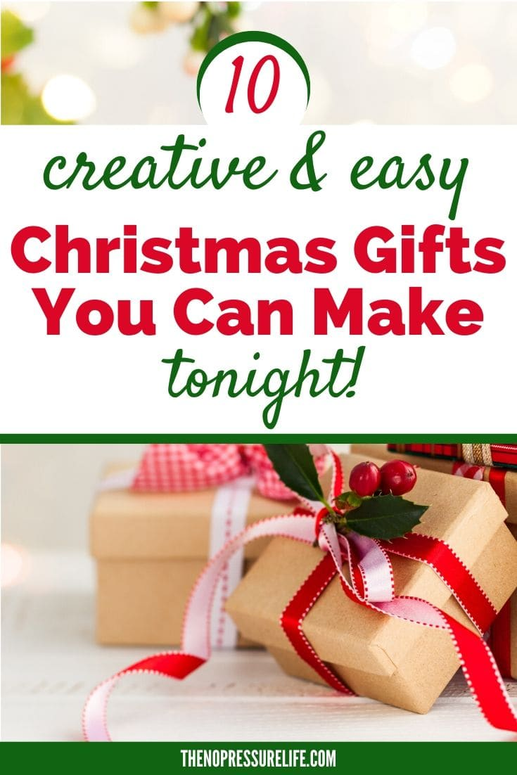 10 easy DIY Christmas Gifts to Make