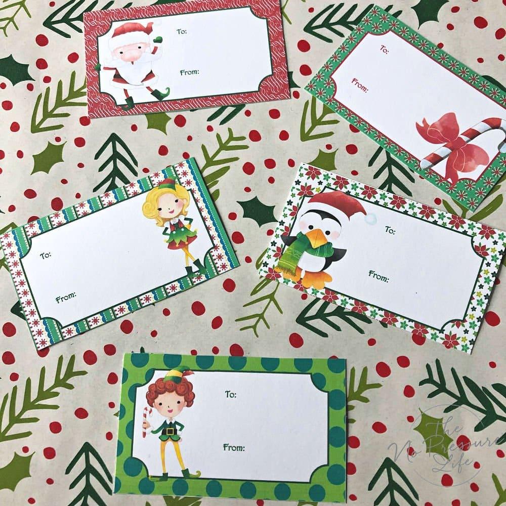 Elf on the Shelf printable pack - printable Christmas gift tags