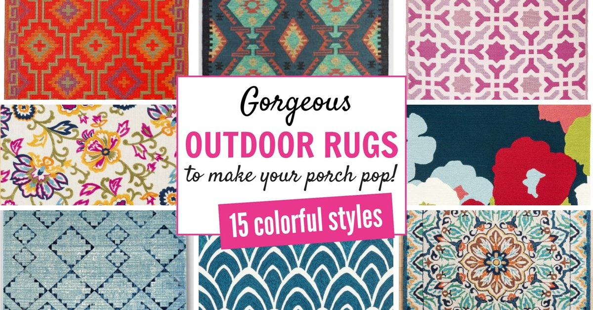 Outdoor Rugs That Will Make Your Porch