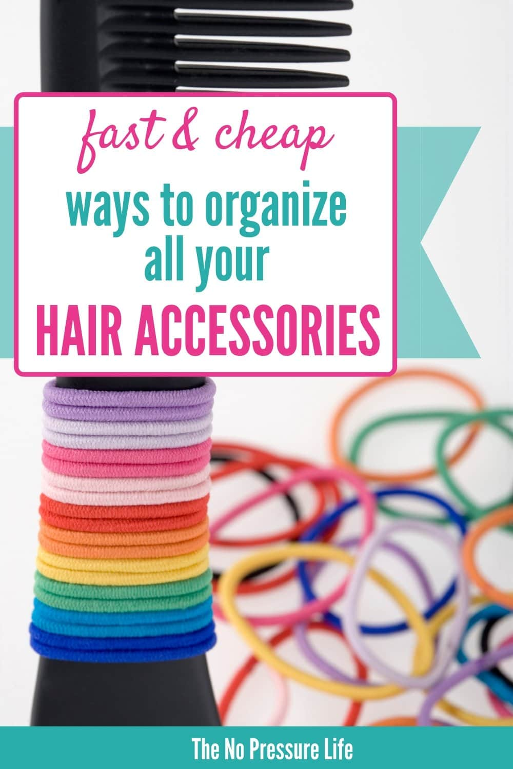 Hair accessory organization ideas for girls
