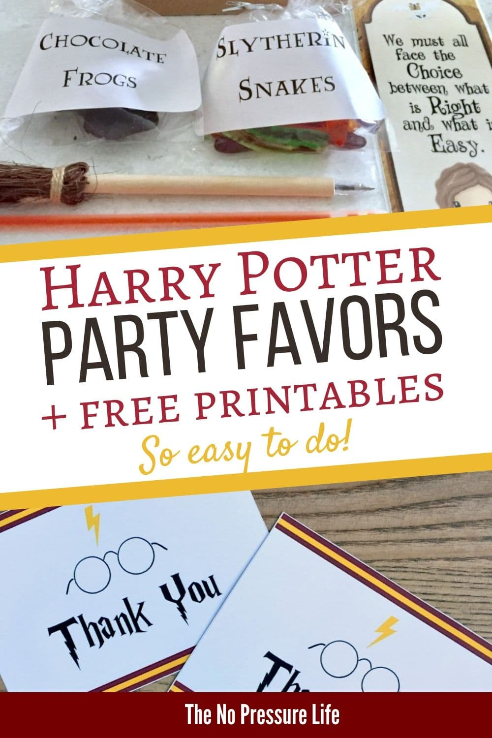 Harry Potter Party Ideas for Goodie Bags