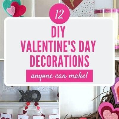 Homemade Valentine's Day Decorations