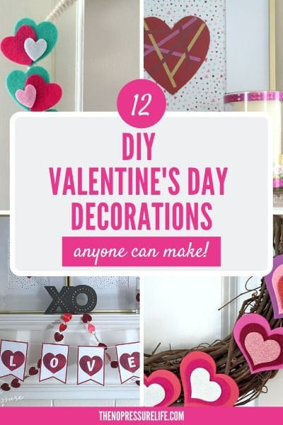 Homemade Valentine's Day Decorations