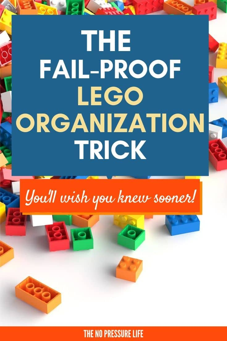 How to organize LEGOs the best way