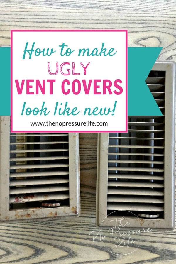 How To Paint Metal Vent Covers So They Ll Look Like New