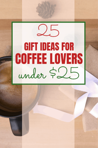 Inexpensive gift ideas for coffee drinkers