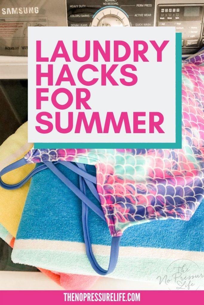summer laundry hacks