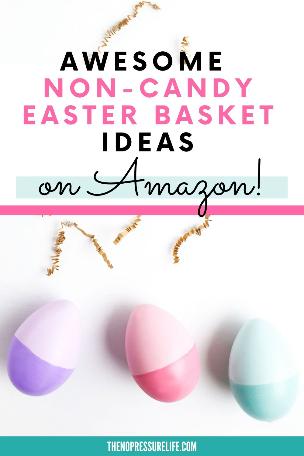 candy-free Easter basket ideas you can buy on Amazon
