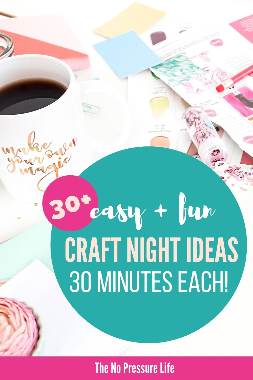 Easy crafts to make in 30 minutes or less