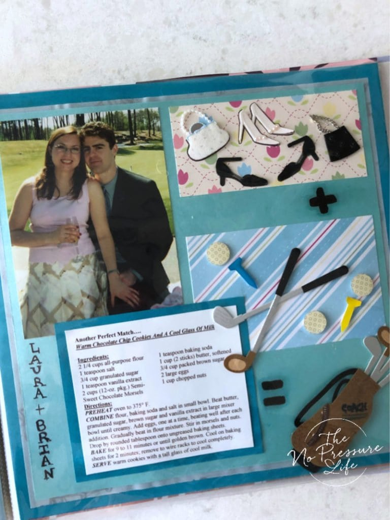 How to organize loose recipes with a DIY Recipe Scrapbook