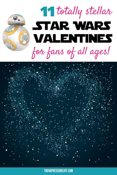 Star Wars Valentines Day Card Ideas