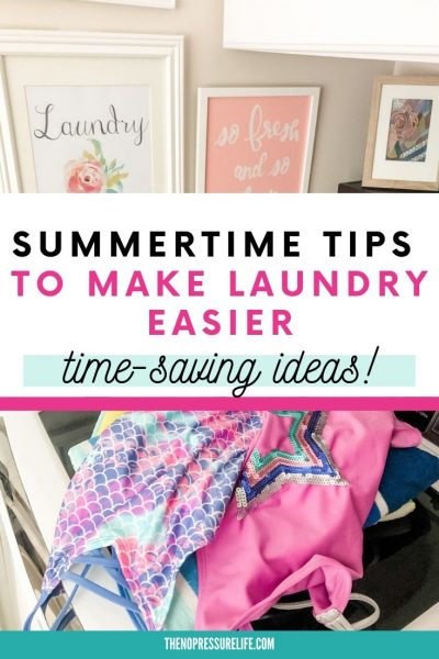 simple summer laundry tips